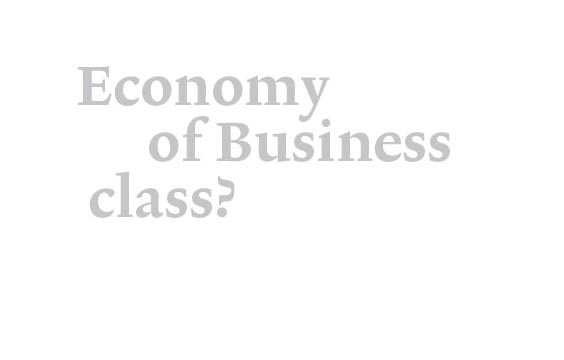 Economy of business class?